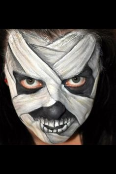 Welcome to our face painting photo gallery! Here you will find face painting ideas, designs & pictures submitted by face painters all over the world. Face Painting Halloween Kids, Face Painting For Boys, Face Painting Designs, Halloween Makeup, Facepaint Halloween, Halloween Face, Monster Face Painting, Face Paint Makeup, Boy Face