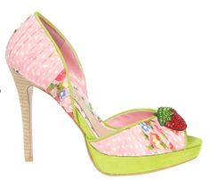 Strawberry Shoes | strawberry shoes | If I Were Cinderella..... | Pinterest
