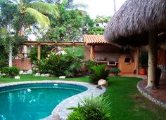 Villa Mipacifica - San Pancho, Mexico - Tropical 2 bedroom Artisan Home - For information and reservations click here: http://www.sanpanchorentals.com/2bedroom/villa_mipacifica.html
