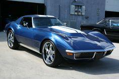 pro-touring c3 corvette   72 Corvette Coupe Pro-Trouring Fuel Injected