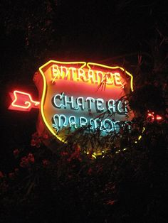 Chateau Marmont Entrance by Mod Betty / RetroRoadmap.com, via Flickr