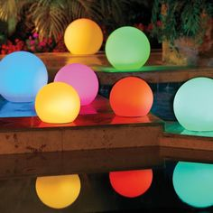 Solar Globe Color Changing Lights