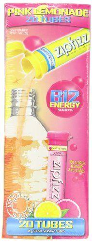 Zipfizz Healthy Energy Drink Mix, Pink Lemonade, 20 Count