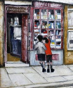 'Harry Riley Toffee Shop' by Joan Eardley