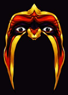 Ultimate Warrior, simply one of the best! Wrestling Superstars, Wrestling Wwe, Wrestling Posters, Warrior Logo, Eddie Guerrero, Parts Unknown, Lucha Underground, Eagle Art, Wwe Tna
