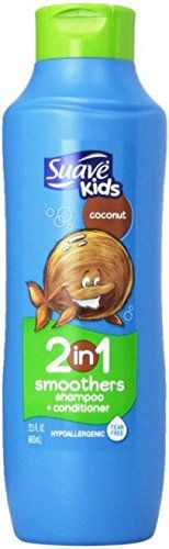 Suave Kids Smoothers 2 In 1 Shampoo  Conditioner Cowabunga Coconut 225 oz 2 Pack >>> Check out the image by visiting the link.(This is an Amazon affiliate link and I receive a commission for the sales)