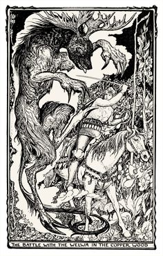 H.J. Ford, The violet fairy book