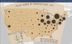 Value Added by Manufacture in the United States, 1927