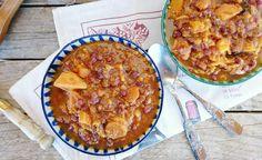 Aprende a preparar este delicioso #estofado #vegano de #azukis y #calabaza. ¡Te va a encantar!