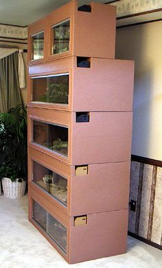 Bearded Dragon Cage - Plastic Cage - Reptile Supplies - Reptile Accessories - Reptiles - Snake Cage - Animal Cages - cage - cages - Plastic cages