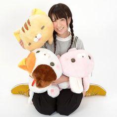Kawaii Plush, Kawaii Cute, Crazy Cat Lady, Crazy Cats, Big Squishies, Neko Atsume, Tokyo Otaku Mode, Mode Shop, Feltro