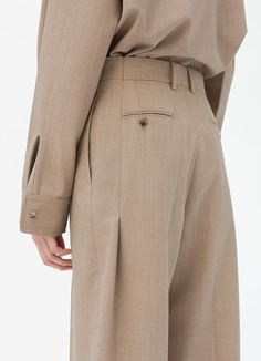 Winter Fashion 1960 Trousers with back cuff slits in lightweight melange tailoring.Winter Fashion 1960 Trousers with back cuff slits in lightweight melange tailoring Celine, Pantalon Large, Fashion Outfits, Womens Fashion, Fashion Trends, 80s Fashion, Fashion Details, Fashion Design, Clothing Hacks