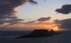 Sunset at Worm's Head Rhossili Bay, Gower Peninsula, Famous Beaches, Disappointed, Worms, Dog Friends, Mother Earth, Effort, Trip Advisor