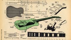 How to Build an Electric Guitar - Historic 1959 Plans (Free Download) - Cigar Box Nation