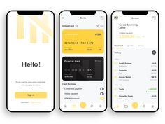 Nomad - Smart bank account Banking app for travelers and. Informations About Nomad - Smart bank Ap Web Design, App Ui Design, Design Layouts, Flat Design, Dashboard Design, Interface Design, User Interface, Ui Design Mobile, Card Ui