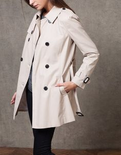 At Stradivarius you'll find 1 Trench for woman for just 1990 MKD . Visit now to discover this and more JACKETS.