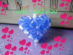 Ho usato 56 bicono azzurri e 12 bianchi Il mio blog: http://bettylovejewels.blogspot.com/ la mia pagina facebook:http://www.facebook.com/pages/Black-Betty/15...