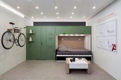 Solutii inteligente Häfele pentru dormitoare de mici dimensiuni
