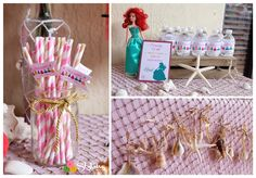 Monica M's Birthday / Disney Princess - Photo Gallery at Catch My Party Birthday Celebration, Birthday Parties, Disney Princess Birthday Party, Princess Photo, My Little Girl, Pink And Gold, Party Ideas, Pirates, Boutique
