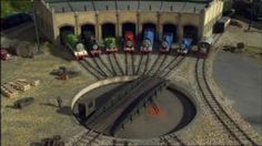 I want to try to make Tidmouth Sheds . . . from cardboard!!  This picture is for inspiration.  http://www.cardboardhouse.co.uk