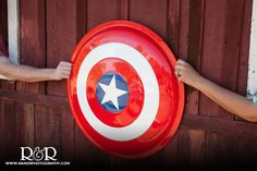 Superhero Engagement Photography | Captin America | Mentryville Engagement | Engagement Theme Ideas |