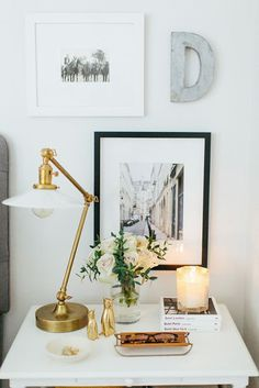 Bedside table lamps. | Where the heart is. | Pinterest | Cindy ...