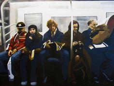 """Com 22 pinturas da artista Eliane Roedel, a exposição """"Sobre imagens e cidades"""" acontece no Museu Inimá de Paula, entre os dias 6 e 29 de setembro. A entrada é Catraca Livre."""