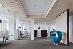 Motel One Head Office und »One University«, Munich. A project by Ippolito Fleitz Group – Identity Architects, Ceilings.
