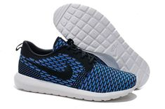 official photos e0d56 a86d7 Nike Roshe Run Flyknit Sale. We provide the latest 2015 Latest Nike Roshe  Run Flyknit Mens Running Shoes Outlet Sapphire Black with a reasonable  price and ...