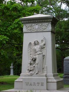 pointing to heaven Spring Grove Cemetery Cincinnati, Ohio
