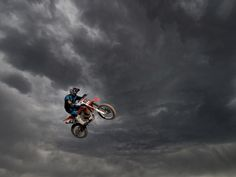 DECEMBER 26, 2010 Motocross Biker, Colorado Photograph by Rayner Marx, My Shot This Month in Photo of the Day: Travel and Adventure Photos Track owner Donnie Burns hurls into a dark heaven at Wild Rat Motocross in Colorado Springs, Colorado.