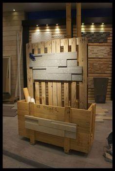 Wooden Divider interior design