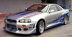 1999 Nissan Skyline GT-R R34 - The Coolest Fast and Furious Cars