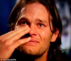 On the football field, 6ft 4in three-time Super Bowl winner Tom Brady is as hard as nails. But the New        www.dailymail.co.uk