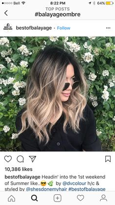 17 Greatest Red Violet Hair Color Ideas Trending in 2019 - Style My Hairs Brown Blonde Hair, Dark Hair, Cabelo Ombre Hair, Hair Color Balayage, Bayalage, Beige Blonde Balayage, Hair Color And Cut, Blonde Highlights, Hair Dos