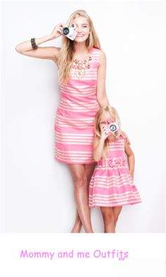 Lilly Pulitzer Mommy and me outfits. Perfection.