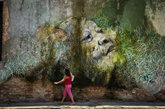 JR  & José Parlá, The Wrinkles of the City, Havana CubaAlicia Adela Hernandez Fernández (2012)