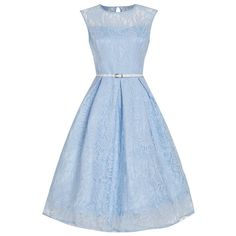 Little Wings Factory - Lindy Bop 'Aleena' Baby Blue Lace Dress, £30.00 (http://www.littlewingsfactory.com/lindy-bop-aleena-baby-blue-lace-dress/)