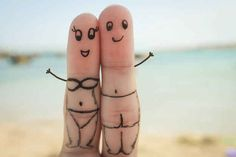 Finger Faces That Are Strangely Heartwarming. – 17 pics (Check Out All Photos) Finger Fun, Finger Plays, Cute Profile Pictures, Funny Pictures, Funny Fingers, How To Draw Fingers, Best Whatsapp Dp, Lovers Pics, Cute Love Images