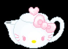 Tired of the same old text messages? Bring your texts to life with these Hello Kitty Stickers. The best GIFs are on GIPHY. Aesthetic Gif, Pink Aesthetic, Cute Pixels, Overlays, Hello Kitty Themes, Pix Art, Iphone Design, Cat Stickers, Kawaii Wallpaper