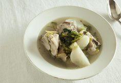 鶏肉とクレソンのスープ | 暮らし上手