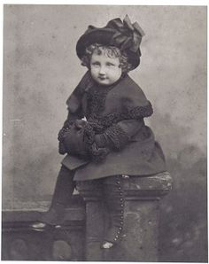 Edith Sitwell as a young girl