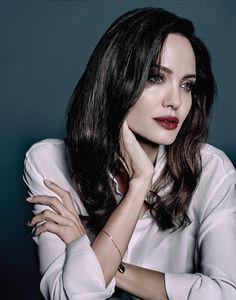 Angelina Jolie  photographed by  Yu Tsai - Nov 2017
