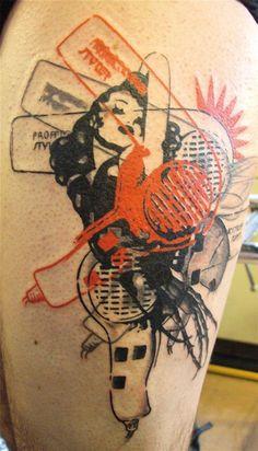 tattoo by jeff (La Boucherie Moderne Brussels) - bad ass GRAPHICS, wow! tattoo by jeff (La Boucherie Moderne Brussels) - Sweet Tattoos, Love Tattoos, Beautiful Tattoos, New Tattoos, Tatoos, Hair Tattoos, Future Tattoos, Tattoo Main, Get A Tattoo