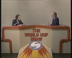 ITV's coverage of the 1982 World Cup Draw (first 10 mins).