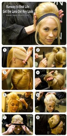 Health Hair Care Advice To Help You With Your Hair. Do you feel like you have had way too many days where your hair goes bad? Are you out of things to try when it comes to managing your locks? Vintage Hairstyles For Long Hair, Vintage Hairstyles Tutorial, Retro Hairstyles, Brunette Hairstyles, Layered Hairstyles, Middle Hairstyles, Braided Hairstyles, Classic Hairstyles, Modern Hairstyles