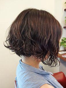 ショートウェーブ l ヘアースタイル 写真 髪型 カタログ