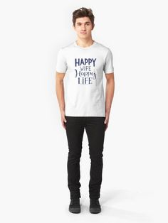 Alternate view of Copy of Leo, Zodiac Life Slim Fit T-Shirt Dad To Be Shirts, Family Shirts, T Shirts For Women, Design Barbecue, Loose Fit, Vintage T-shirts, Jesus Shirts, Christian Shirts, Slim Fit