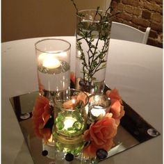 What we uses for rehearsal dinner centerpieces