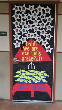 This was for teacher appreciation week. The theme you mean ...